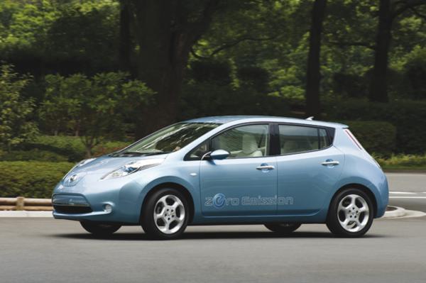Nissan Leaf: начало продаж в Европе