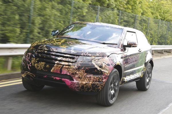 Range Rover LRX получит передний привод