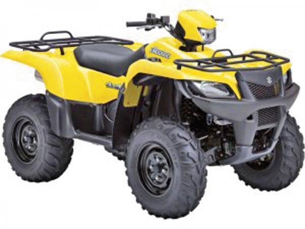 Suzuki KingQuad – одноцилиндровый квадроцикл