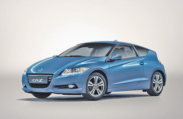 Honda CR-Z официальн о представлен в Украине