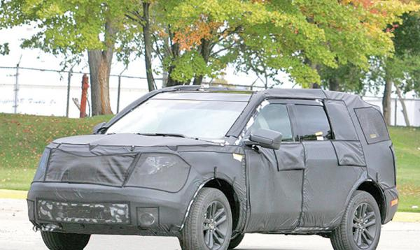 Ford Explorer покажут в ноябре