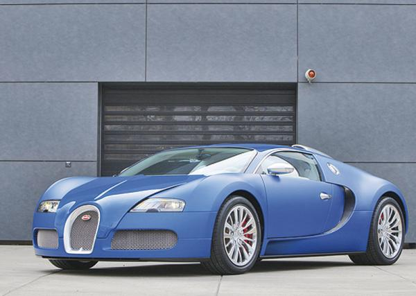 Bugatti представит Veyron SuperSport