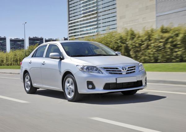Toyota Corolla City уже в продаже в Украине