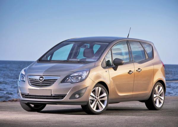 Opel Meriva появится в Украине осенью