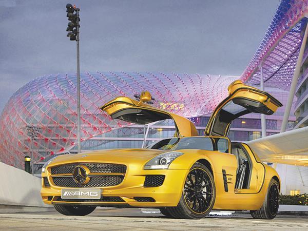 Mercedes-Benz SLS AMG пополнит ряды электромобилей