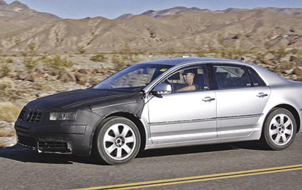 Volkswagen работает над новым Phaeton