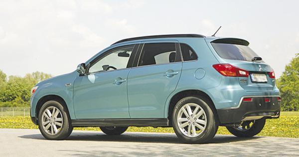Mitsubishi о бъявили украинскую цену на кроссовер ASX