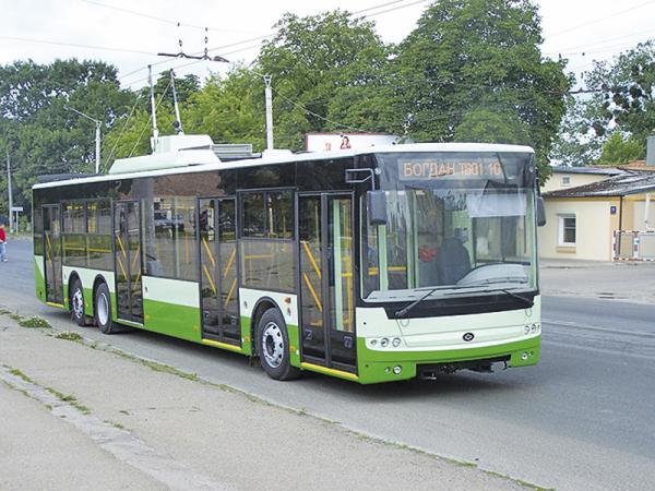 Троллейбусы Богдан будут собирать в Крыму