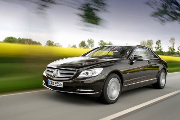 Mercedes-Benz CL: обновление