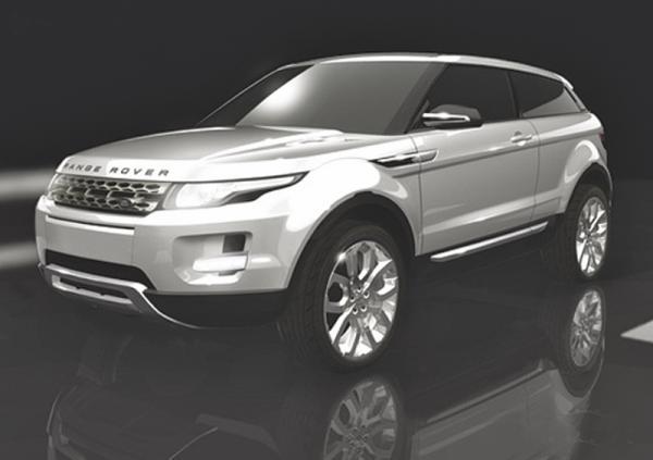 Land Rover LRX: первые официальные фото