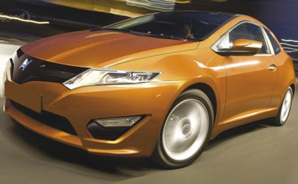 Honda Civic получит более футуристический дизайн