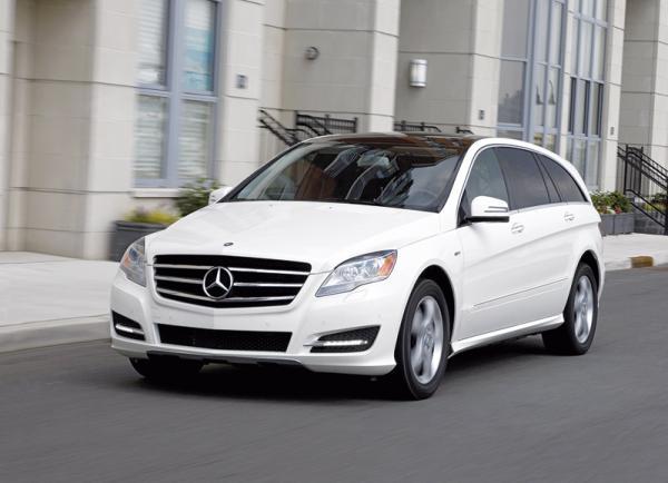 Mercedes-Benz R-Class: освежение и смена образа