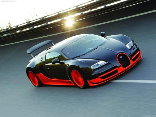 Bugatti Veyron Super Sport  - новый рекордсмен