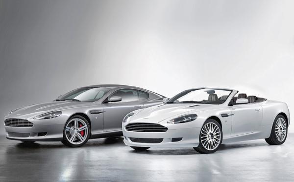 Aston Martin DB9: легкая ретушь