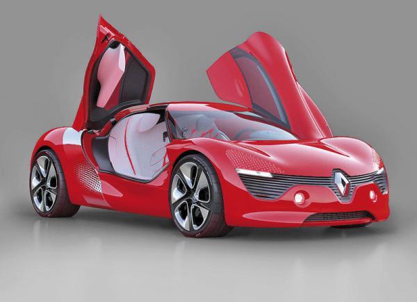 Renault DeZir:  концепт в стилистике инь-янь