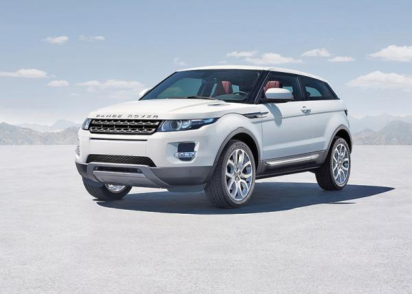 Range Rover Evoque – cамый маленький