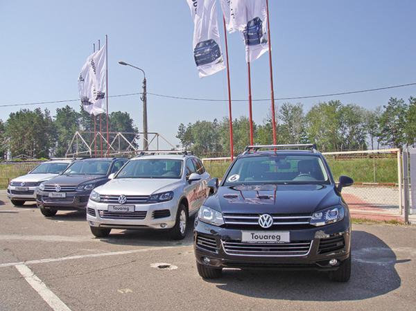 Новый Volkswagen Touareg уже в Украине