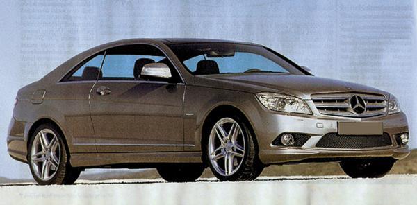 Mercedes-Benz C-Class станет купе