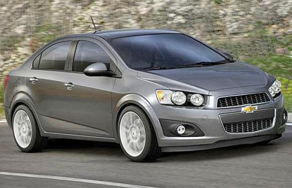 Chevrolet Aveo скоро обновят