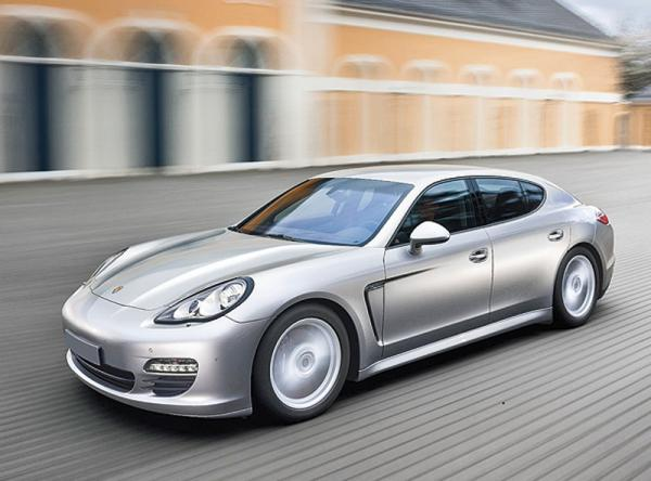 В Porsche работают над гибридным Panamera