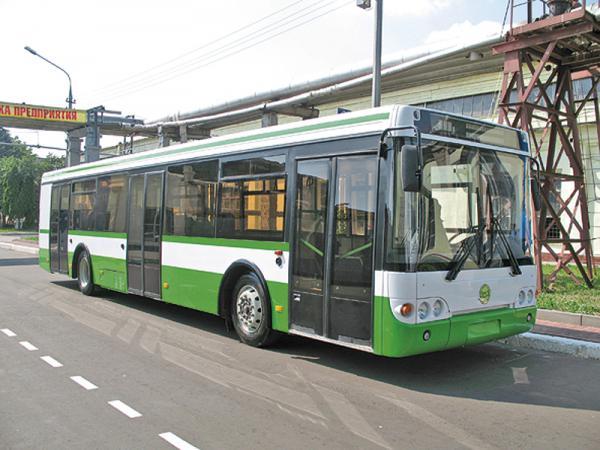 Автобусы с гибридной силовой установкой