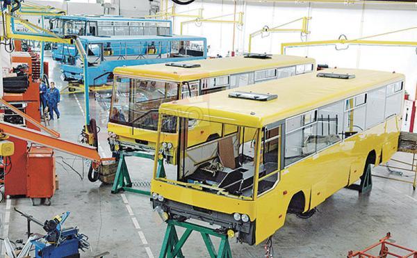 Экспорт украинских автобусов и троллейбусов увеличился в 2,6 раза