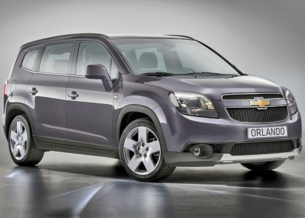 Представили изображения Chevrolet Orlando