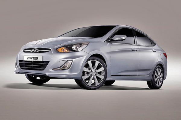 Hyundai готовит новый седан В-класса