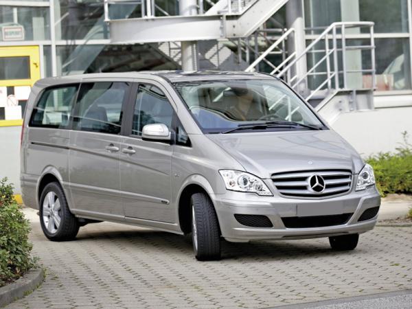 Mercedes-Benz Vito и Viano: обновление модельного ряда