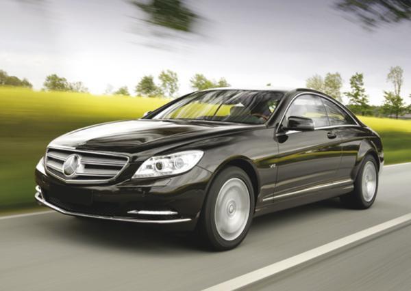 Новое купе Mercedes CL