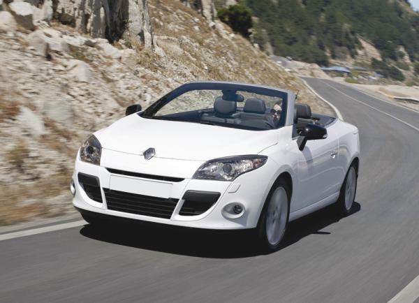 Renault Megane Coupe-Cabriolet: всесезонный кабриолет