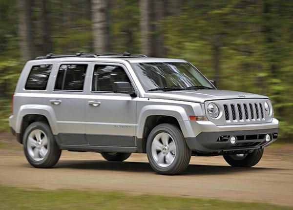 Jeep Patriot обновили