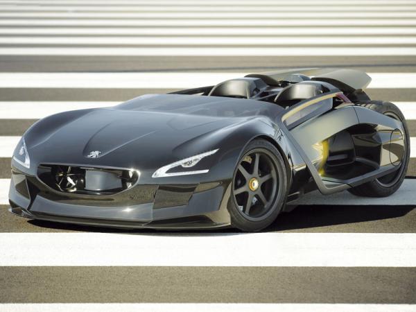 Peugeot EX1 Concept: электромобиль с претензией на рекорд