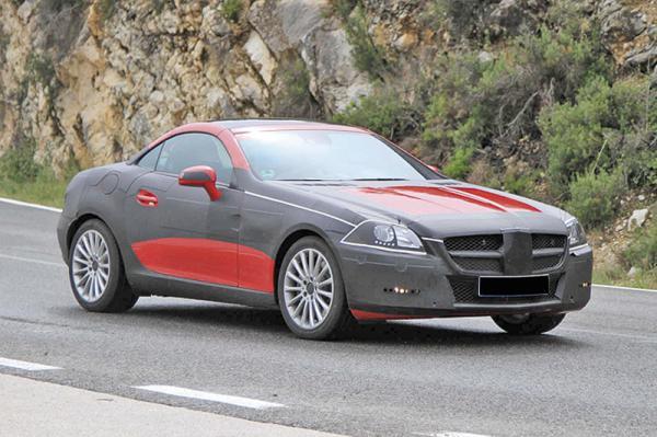 Новый Mercedes-Benz SLK представят весной