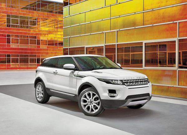 Компактный кроссовер Land Rover Evoque
