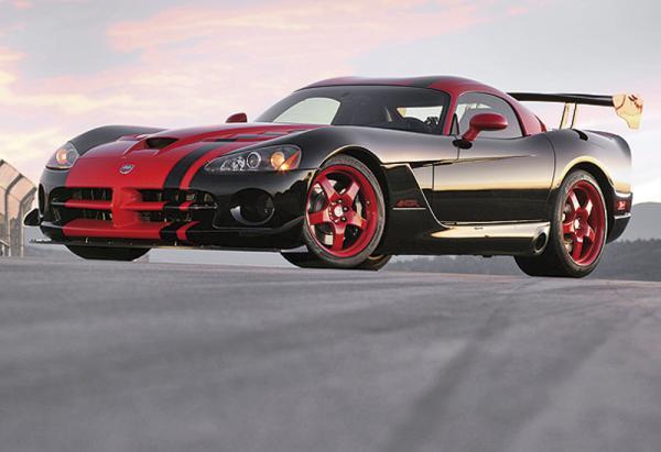 Новый Dodge Viper покажут в 2012 году