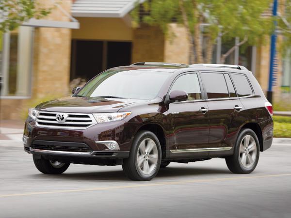 Toyota Highlander: модернизация