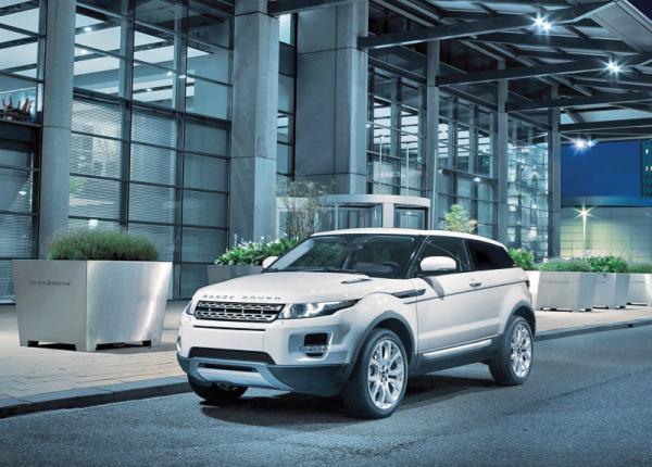 Range Rover Evoque: самый маленький в семье