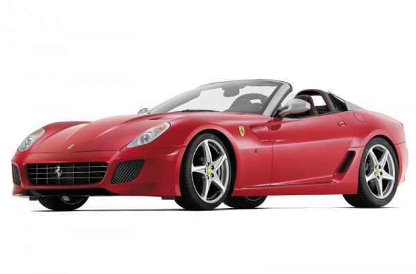 Ferrari 599 SA Aperta: подарок на 80-летие Pininfarina