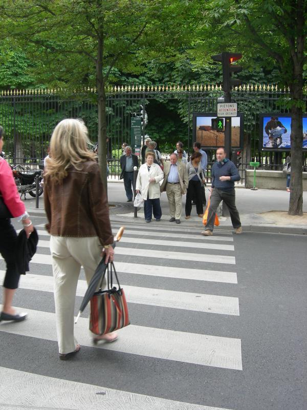 ГАИ будет штрафовать пешеходов