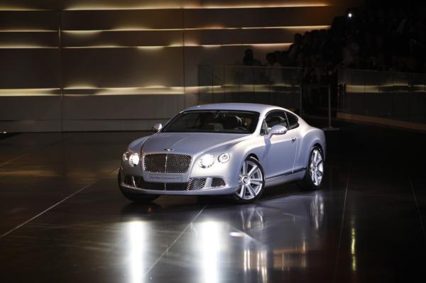 Парижский автосалон: Bentley Continental GT