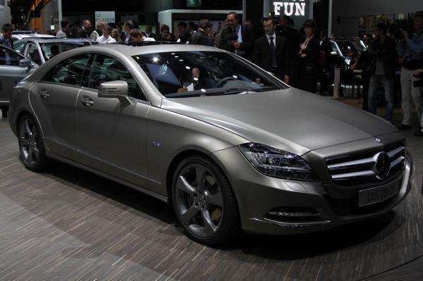 Парижский автосалон: Mercedes-Benz CLS