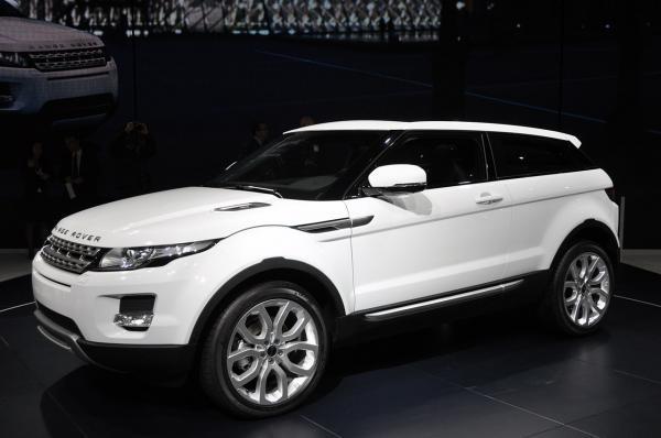 Парижский автосалон: Range Rover Evoque