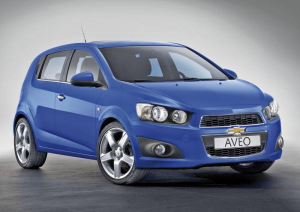 Парижский автосалон: Chevrolet Aveo, Chevrolet Cruze Hatchback