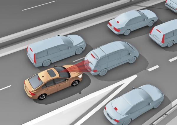 Краш-тест: Volvo City Safety