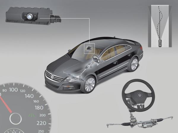Краш-тест: Volkswagen Lane Assist