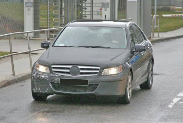 Mercedes-Benz C-Сlass и ML-Class замечены на испытаниях