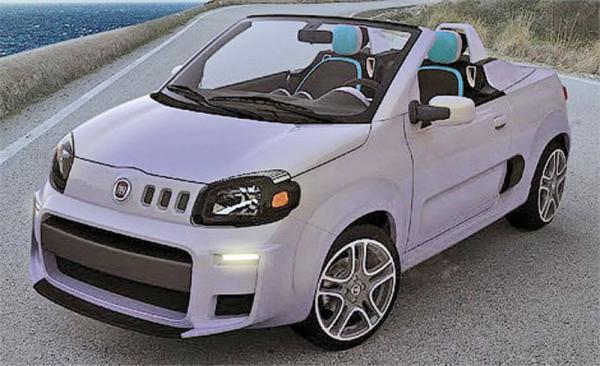 Fiat Uno станет родстером