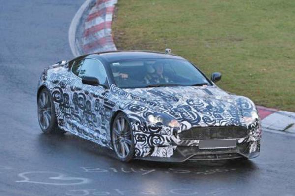 Aston Martin готовит обновленный DBS