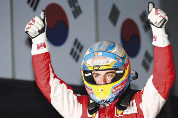 F1: Красные захватывают лидерство